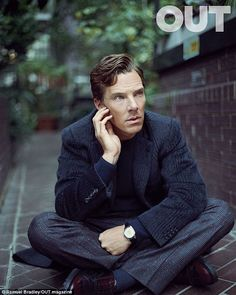 Cover boy: Benedict Cumberbatch talks candidly in new issue of Out magazine