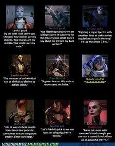 Mass Effect alignment.