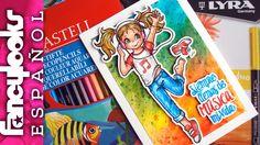 Cómo colorear con lápices acuarelables, descarga sello digital gratis (s...