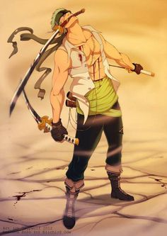 Zoro.. Facebook: One Piece's Page