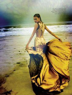 """Walking towards the horizon""  Daniela Braga  December 2012"