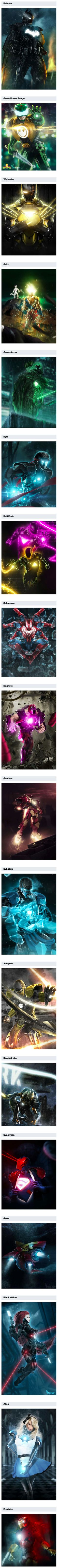 Ever wonder what Batman would look like as Iron Man? Here are 18 awesome Iron Man mashups for your viewing enjoyment.