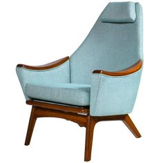 Adrian Pearsall Lounge Chair   From a unique collection of antique and modern lounge chairs at https://www.1stdibs.com/furniture/seating/lounge-chairs/