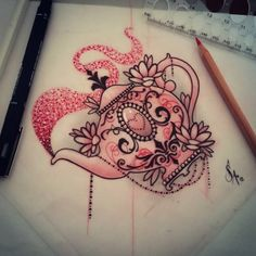 tea tattoo sketch - Cerca con Google