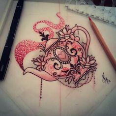 tea tattoo sketch - Cerca con Google