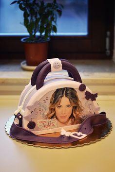 Violetta cake Violetta Cake, Tv, Desserts, Party, Tailgate Desserts, Deserts, Television Set, Postres, Dessert