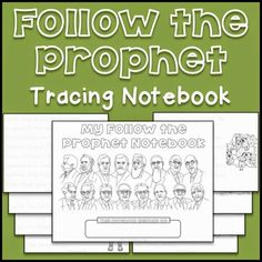 LDS Notebooking: Follow the Prophet Tracing Pages