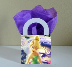 10 Tinkerbell Favor Boxes Centerpieces by CutePartySupplies