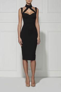 CLAUDIA DRESS little black dress
