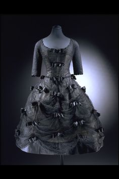 Le Bal Masque, Yves Saint Laurent for Dior, 1958, The Victoria & Albert Museum