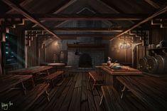 Growling Guppy Tavern by AnthonyAvon