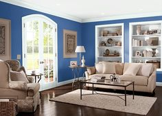 This is the project I created on Behr.com. I used these colors: SAPPHIRE LACE(S-G-570),LION(760D-4),BLUEBERRY PATCH(600D-6),GLACIAL TINT(W-B-520),