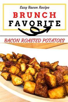 Brunch & Breakfast Favorite | Zesty Bacon Flavored Red Potatoes #brunchrecipes #breakfastpotatoes #roastedpotatoes #ovenroastedpotatoes #brunchsides #brunchsidedish