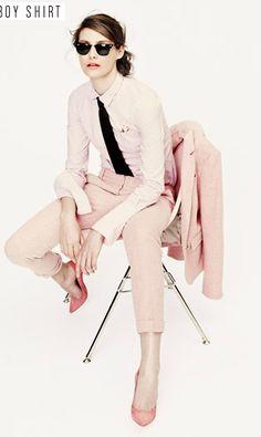 boyish in pink (j.crew)