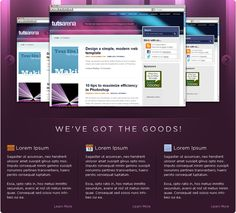 best modern website Web Design, Site Design, Template Site, Templates, Modern Website, Photoshop Tutorial, Lorem Ipsum, Simple Designs, Simple Drawings