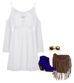 """""""Royal Blue Boot"""" by charlotte1003 on Polyvore featuring Glamorous e Qupid"""