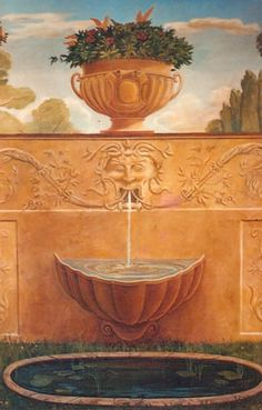 Trompe l' oeil: Re-Create this mural with Deco Haven Artistry, Murals  Decorative Painting!