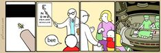 The Perry Bible Fellowship - Bee and #ophtalmologist #medicine