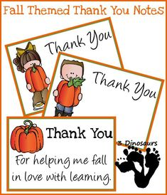 Free Fall Thank You Notes For Teachers - You can find For teachers thank you and more on our website.Free Fall Thank You Notes For Teachers -