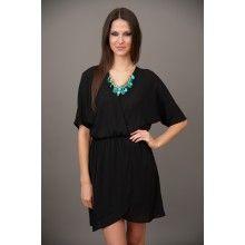 EVERLY: Amelia Island Dress-Black - $44.00 @Harper Dawes for B'ball travel days