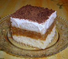 - Italské jablíčko s tvarohovým krémem Graham Crackers, Amazing Cakes, Tiramisu, Nutella, Sweet Tooth, Cheesecake, Deserts, Good Food, Food And Drink