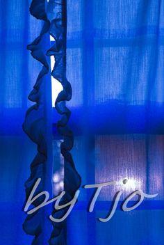 Phthalo Blue Cobalt Lapis lazuli Country Curtain Window Sunrise Sunset Art Farmhouse Colorful Affirmation photographic s