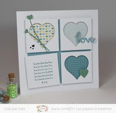 Dani Saint Valentin Com Valentine Day Cards, Valentines, Anniversary Banner, I Love You, My Love, Dani, Message Card, Wedding Cards, Bleu Turquoise