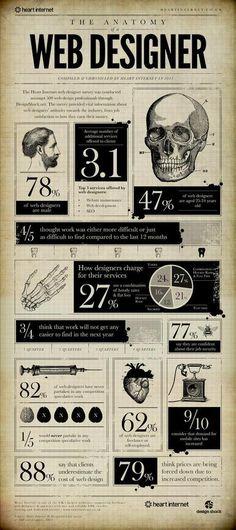 UK Web Designer Infographic
