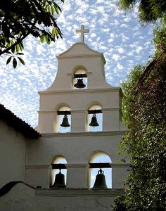 Mission San Diego de Alcala - 6/23/13 with Mom Nick and Crystal -The church was serene.