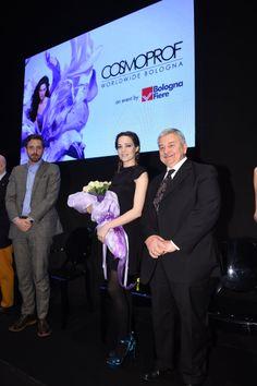 Laura Chiatti all'inaugurazione di Cosmoprof