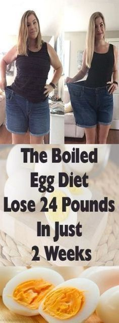 The Boiled Egg Diet – Lose 24 Pounds In Just 2 Weeks – Healthy Me Shape