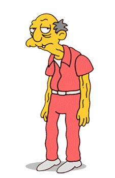 "The Old Jewish Man from ""The Simpsons"""