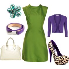 """""""Green and Purple"""" by ep2182 on Polyvore"""