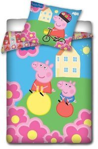 Peppa Pig and George Duvet Cover Set 63 x 78 Inches | eBay