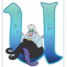 Disney Alphabet Printables   Printables   Spoonful
