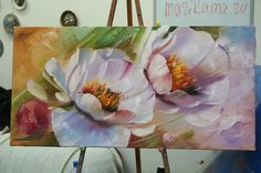 a variety of techniques went into the creation of the artwork i assume they have proper names in the art world, but i used a combination of wet canvas . Oil Painting Flowers, Abstract Flowers, Watercolor Flowers, Watercolor Paintings, Watercolor Techniques, Arte Floral, Acrylic Art, Beautiful Paintings, Art Oil