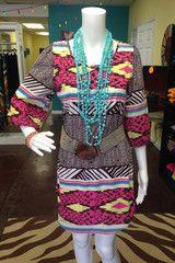 Aztec Dress | Wild Flower