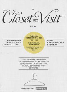 The Standard - Cine-Shorts Presents A Closet Visit Film No. 2