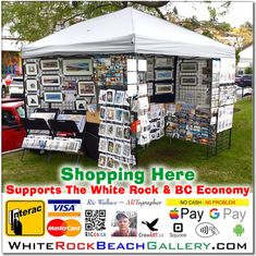 The White Rock Beach Gallery – Featuring the work of ARTographer Ric Wallace