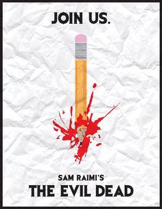 The Evil Dead - remember the pencil scene?
