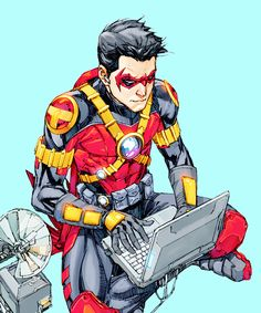 Techie Red Robin - Kenneth Rocafort