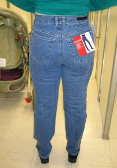 Anatomy of the Mom Jeans. Fascinating.