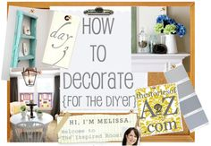 Most (all?) of you probably don't need me to introduce today's blogger, but it's my privilege to do so anyhow!  Melissa from The Inspired Room is amazing and has more than enough decorating tips, tricks, and secrets on her blog right now to write a book.  I highly recommend you check out her Best Of …