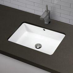 Verticylтў Rectangular Undermount Bathroom Sink K-2882-0 oval hammered undermount bathroom sink   products   pinterest