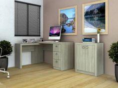 Escrivaninha/Mesa para Computador 3 Gavetas - Tecno Mobili ME 4101