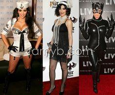 Os looks de Halloween da Kim Kardashian