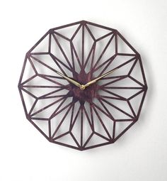 Hey, I found this really awesome Etsy listing at https://www.etsy.com/listing/183250150/large-star-clock-modern-geometric-laser