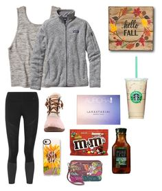 """""""When you can't find the sunshine, BE the sunshine! ☀️"""" by prepstermaddy ❤ liked on Polyvore featuring Hollister Co., Patagonia, NIKE, Sperry, Anastasia Beverly Hills, Casetify and Vera Bradley"""
