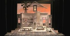 The Rainmaker. Model - The Rainmaker. Model. Robert Mark Morgan. --- #Theaterkompass #Theater #Theatre #Schauspiel #Tanztheater #Ballett #Oper #Musiktheater #Bühnenbau #Bühnenbild #Scénographie #Bühne #Stage #Set