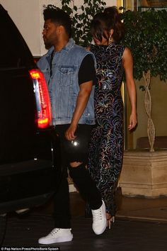 July Abel Tesfaye (The Weeknd) and Selena Gomez in Los Angeles